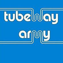 blue photo album tubeway army album