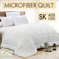400gsm bamboo cover quilt with bamboo u0026 microfibre filling super