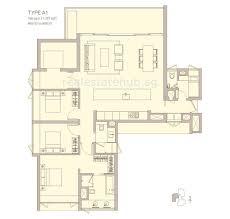 ardmore three freehold brochure floorplan show flat