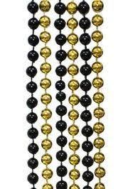 black and gold mardi gras black n gold mardi gras for saints 33 7mm