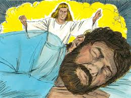 free bible images an angel tells mary and then joseph of the