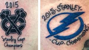 lightning blackhawks fans get premature u0027stanley cup champions