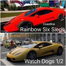 siege cars the scafati gt from dogs is on the coastline map rainbow6