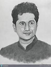 drawing of my uncle m k subramaniam my art pinterest