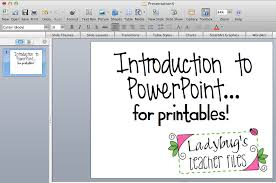 introduction to powerpoint tutorial introduction to ppt for printables ladybug u0027s teacher files