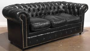 vintage chesterfield sofa black leather chesterfield sofa quantiply co