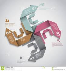 modern infographics options layout design stock image image