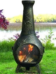 Homemade Chiminea Clay Chiminea Outdoor Fire Pit Clay Chiminea Fire Pit