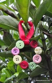 handmade christmas decorations button wreath be a fun mum