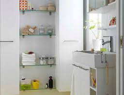 creative storage ideas for small bathrooms small bathroom shelving house design ideas the powder room