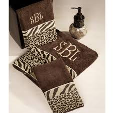 Bathroom Towels And Rugs by Perfect Animal Print Bath Towels Homesfeed