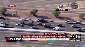 car crash phoenix with 100 more info