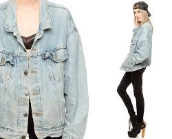 light wash denim jacket womens levis jean jacket 80s faded denim jacket levi coat light wash blue