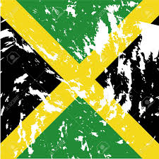 Jamiaca Flag Dirty Jamaica Flag Background Royalty Free Cliparts Vectors And
