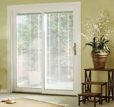 Cheap Blinds For Patio Doors Sliding Glass Doors With Blinds Inside Them Patio Regarding Door