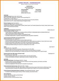 research resume sample undergraduate resume example with additional template sample with undergraduate resume example in template with undergraduate resume example