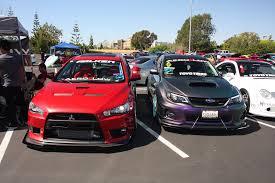 nissan 370z vs evo x 2015 imports uci car show photo gallery photo u0026 image gallery