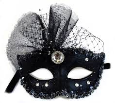 mask masquerade decorated glittered masquerade mask for women