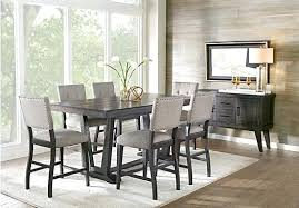 white counter height kitchen table and chairs lovely countertop table set full size of home black counter height