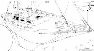 de32 cutter running and standing rig details downeaster yachts com