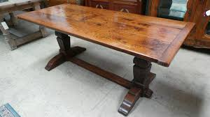 antique looking dining tables antique french oak gothic style 18th century monastery dining table