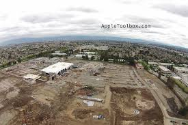 aerial photos show demolition progress at apple u0027s u0027spaceship
