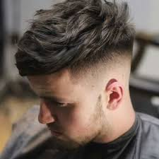 hairstyles short in back and long sides men s hair haircuts fade haircuts short medium long buzzed