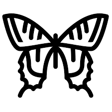 tiger butterfly icon free png and svg download