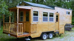 Tiny Home Design Vintage Gooseneck Trailer Tiny Home With Balcony Small House
