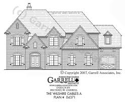 English Style House Plans by Wilshire Gables A House Plan House Plans By Garrell Associates Inc