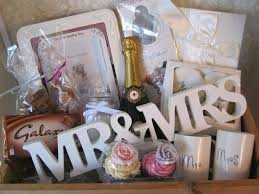 wedding gift basket ideas whimsical wedding hers