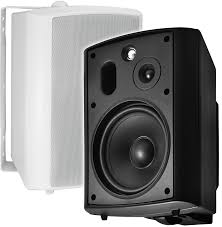 klh home theater system ap640 outdoor patio speaker pair
