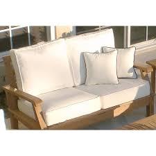 royal teak miami outdoor loveseat cushions hayneedle