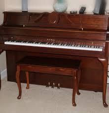 upright kawai piano and bench model 502 f ebth