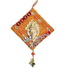 Home Decoration Online Shopping India Buy Little India Home Decorative Ethnic Ganesha Wall Hanging