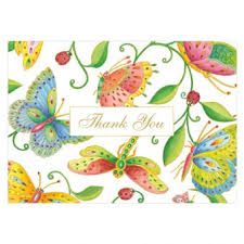 thank you notes thank you notes stationery caspari