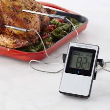 termometre cuisine bluetooth thermometer williams sonoma