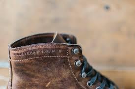 comfortable moto boots wolverine 1000 mile boots sideroist