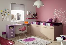 Big White Desk by Bedroom Ideas For Teens Butterfly Motif Wall Whte Bed Pink Thick