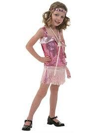 pink flapper toddler costume kids flapper halloween costumes