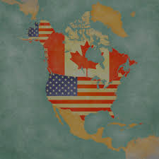 Blank Map Of Us And Canada by North America Natural Resources Canada Wall Map Canada Location