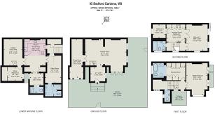 5 bed end terrace house for sale in bedford gardens kensington