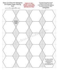 free english paper piecing grandmother u0027s flower garden pattern