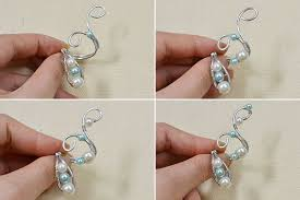 make wire rings images Crafting wire how to make fashion diy wire rings jpg