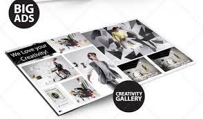 magazine ad template word creative magazine layout design ideas entheos