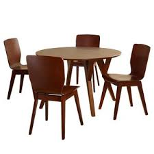wood dining room sets modern contemporary dining room sets allmodern