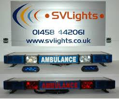 whelen ambulance light bar whelen ambulance package amb1 light bar and grille lights flickr
