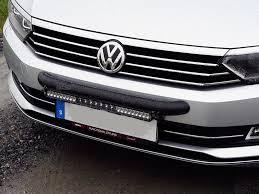 automotive led light bars vw passat 2015 wilderness lighting bumper mount led light bar