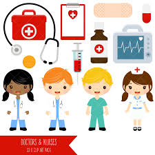 Doctor And Nurse Doctor And Nurse Clipart Cute Doctors And Nurses Clip Art
