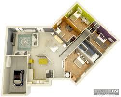 cr r sa chambre 3d plan de maison en 3d conceptions de la maison bizoko com